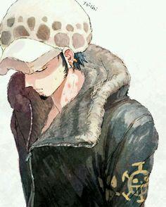 Trafalgar D. Manga Anime One Piece, One Piece Fanart, Anime Manga, Anime Guys, Anime Art, Zoro, Hot Guys, One Piece Drawing, One Piece Images