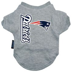 New England Patriots Dog Tee Shirt from RadioFence.com $19.95 (http://www.radiofence.com/new-england-patriots-dog-tee-shirt/)