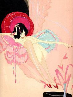 Descarga de fotos de Flickr: ART DECO PERFUME AD