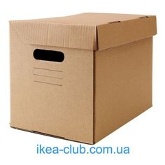 IKEA - PAPPIS, Box with lid, Designed for storage of paper size and American letter size cm). Tapas, Ikea Storage Boxes, Home Organisation, Organization, Good House, Box With Lid, Konmari, Workshop Studio, Letter Size