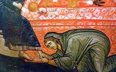 Gheronda Filótheos Zervákos: Sfaturi părinteşti pentru trezire şi pocăinţă Orthodox Icons, Painting, Mai, Easter, Painting Art, Easter Activities, Paintings, Painted Canvas, Drawings