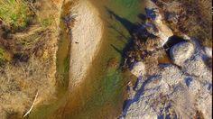 Phantom 3 Standard footage - Blanco River, Texas