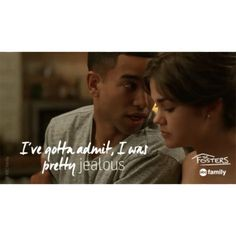 "S3 Ep4 ""More Than Words"" - Oooh. AJ & Callie? We're seeing sparks. #TheFosters"