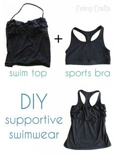 Busty Girl Problems - Supportive Swimwear - Cutesy Crafts