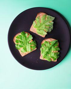 Lihansyönnin vähentäminen on yksi merkittävimmistä teoista, jonka yksilö voi tehdä ilmaston eteen. Sen sijaan, että tässäkään asiassa pitäisi pyrkiä absoluuttisuuteen täydellisen kasvis-/vegaaniruokavalion kautta, haluan muistuttaa tästä faktasta: jokainen kasvisateria on ilmastoteko.  Picture: Toast with lettuce cut into monstera leaves #ilmastonmuutos #kestäväkehitys #ilmastoteko #ekoteko #konkreettinen #climatechange #sustainability #artdirection #stilllifephotography #stilllife Avocado Toast, Breakfast, Morning Coffee