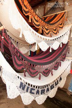 Nicaraguan Handwoven Hammock Family Size by HangAHammock on Etsy, $79.00