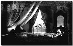 gothic bedroom decoration