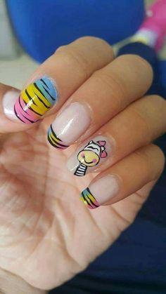 Zebra nails...