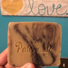 Customer review of our Patchouli Soap on Etsy