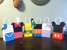 Mickey Mouse and Friends Goody bags for parties by KikisPartyFun, $60.00