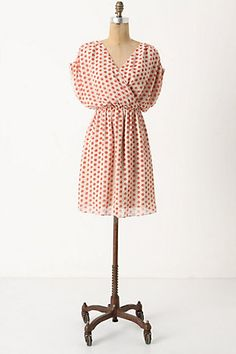 collecting dots dress from anthropologie: $198.00 for if one day I just start crapping money.