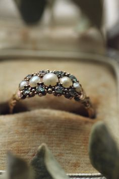 Antique Rings, Vintage Rings, Antique Jewelry, Vintage Jewelry, Bohemian Jewelry, Pearl Jewelry, Jewelery, Fine Jewelry, Other Accessories