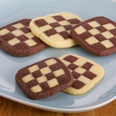 Try this Checkerboard Icebox Cookies recipe by Chef Anna Olson. This recipe is from the show Bake With Anna.