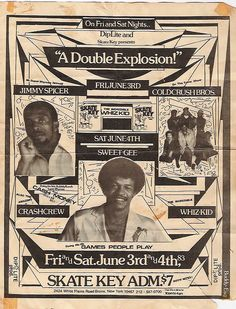sweet old school bronx flyer