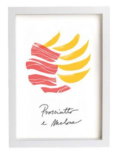 Awesome for the kitchen!!!  Italian Food Prints Uncovet