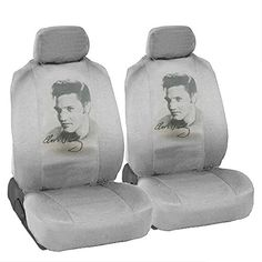 CarsCover Custom Print Design Car SUV Truck Low Back Seat Covers (Elvis Presley): The seat covers adjust with tabs and buckles to fit most bucket seats and to provide a smooth, custom fit. It will fit one side of armrest per bucket seat. Bucket Seat Covers, Truck Seat Covers, Bucket Seats, Car Seats, Suv Trucks, Back Seat, Truck Accessories, Elvis Presley, Cover Design