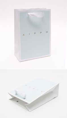 #AIPPO(아이뽀) 쇼핑백 #코팅쇼핑백 #쇼핑백샘플 #금박로고 #모아패키지 Fashion Packaging, Cosmetic Packaging, Jewelry Packaging, Brand Packaging, Box Packaging, Packaging Design, Graphic Design Branding, Identity Design, Shoping Bag