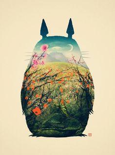 My Neighbor Totoro (1988):