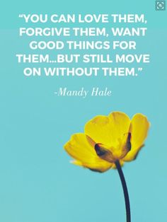 Move on with God . . . but always choose GOOD.