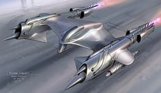concept ships: Revenge of the Sith spaceship art by Ryan Church