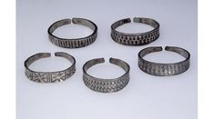 Viking age / Silver arm-rings / Natiol Museum of Wales