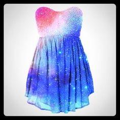 29% off Dresses & Skirts - Maxi Galaxy Dress from Jerleel's closet ...