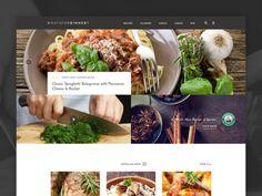 What's For Dinner Website by Blane Fraser Food Website, Meal Planner, Japchae, Spaghetti, Spices, Banana, Beef, Meals, Dinner