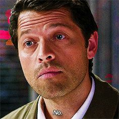 [GIF] I'm not sure how much of this is Misha, and how much is Cas. #SassyCassie #9x22