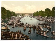 Title: [Henley Regatta, II., England] |  Date Created/Published: [between ca. 1890 and ca. 1900].