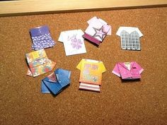 Origami Doll Houses