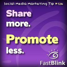 Social Media Marketing Tip #126
