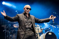 Pitbull - Armando Christian Pérez The rapper chose to be called by his stage name because his admires the tenacity of the breed.