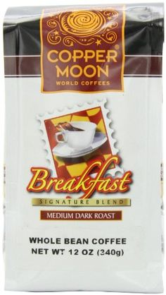 Copper Moon Breakfast Blend Coffee, Whole Bean, 12-Ounce Bags -Pack of 3 ** Discover this special product, click the image: at Coffee Beans.