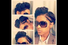 This chick's protective style is bangin