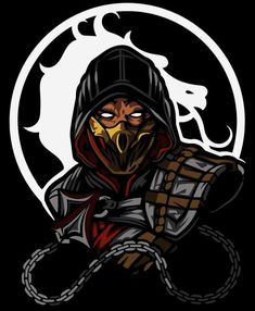 Escorpion Mortal Kombat, Mortal Kombat Shirt, Mortal Kombat X Wallpapers, Claude Van Damme, Mortal Combat, Wallpaper Naruto Shippuden, Neko, Character Drawing, Comic Character
