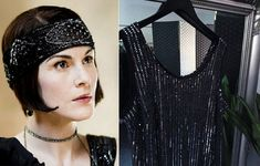 Flapper Dress Sequinned Dress Sequin Dress Gatsby Dress Flapper Dress Size 24 Downton Abbey Dress Embellished Dress Sparkly Dress by STILLCHIC on Etsy