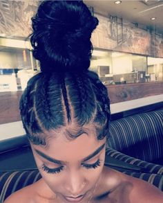 hairstyles middle part hairstyles with weave hairstyles com haircut knoxville hair to do curly hairstyles hairstyles com hairstyles quick weave Baddie Hairstyles, Ponytail Hairstyles, Weave Hairstyles, Black Girls Hairstyles, 1980s Hairstyles, Gorgeous Hairstyles, Hairstyles Videos, Updos, Curly Hair Styles