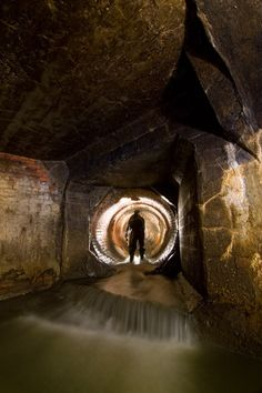 A look through the out-of-this-world sewers below the Montreal community of Cote St Paul Man Of La Mancha, Hidden Places, World Of Darkness, Mysterious Places, Cthulhu, My Images, Surrealism, Cool Photos, Rings For Men