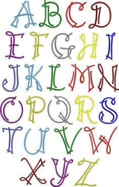 Scrapbook Embroidery Font | Apex Embroidery Designs, Monogram Fonts &…