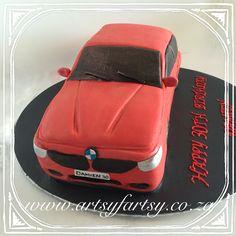 BMW M3 Cake #bmwm3cake Motorbike Cake, Cupcake Cakes, Cupcakes, Cakes For Boys, Cakes And More, Bmw M3, Truck, Car, Motorcycle Cake