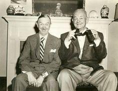 The last photo of Laurel & Hardy, 1956