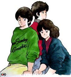 cartoons collage Prendi il mondo e vai Old Anime, Manga Anime, Anime Art, Adachi Mitsuru, Baseball Anime, Marvel Characters, Disney Characters, Nostalgia, Anime People