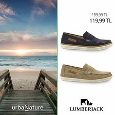 Yaz akşamlarını Lumberjack'inle tamamla.. #urbaNature #newseason #yenisezon #ilkbaharyaz #fashion #fashionable #style #stylish #lumberjack #lumberjackayakkabi #shoe #shoelover #ayakkabı #shop #shopping #men #manfashion #ss15 #summerspring