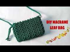 Diy Crochet Purse, Crochet Bag Tutorials, Diy Crochet Patterns, Flower Patterns, Macrame Purse, Macrame Knots, Micro Macrame, Handbag Tutorial, Handbag Patterns