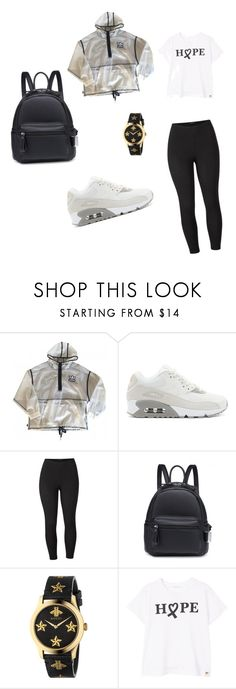 """back"" by grace-omambia ❤ liked on Polyvore featuring adidas, NIKE, Venus, Gucci, MANGO and plus size clothing"
