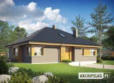 Eris II (wersja C) - projekt domu - Archipelag My Home Design, House Design, Modern Bungalow, Good House, Gazebo, House Plans, Outdoor Structures, Mansions, House Styles