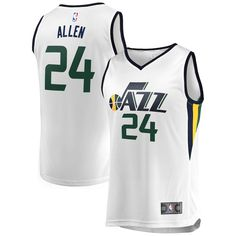Grayson Allen Utah Jazz Fanatics Branded Fast Break Replica Jersey White -  Association Edition 8c5607133