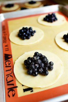 Mini Blueberry Galettes ... could I make these whole wheat pie crust?