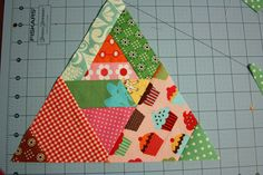 Stuff to Know This quilt is super easy to make. The difficult part is explaining how to put it together. I'm using lots of scraps...