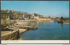 A Corner of St Ives Harbour, Cornwall, c.1970 - Jarrold Postcard